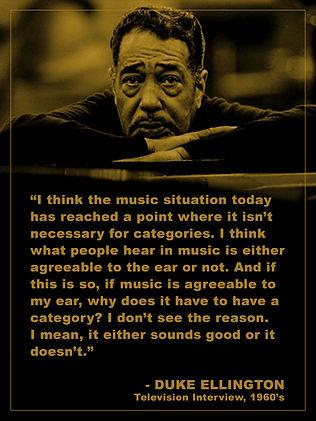 Duke Ellington Quote