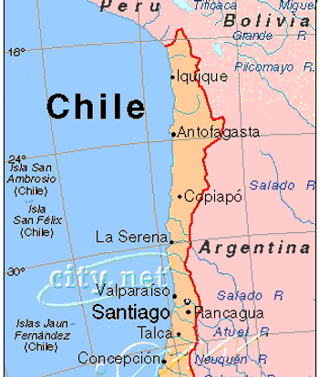 Chilie Location - Chile location