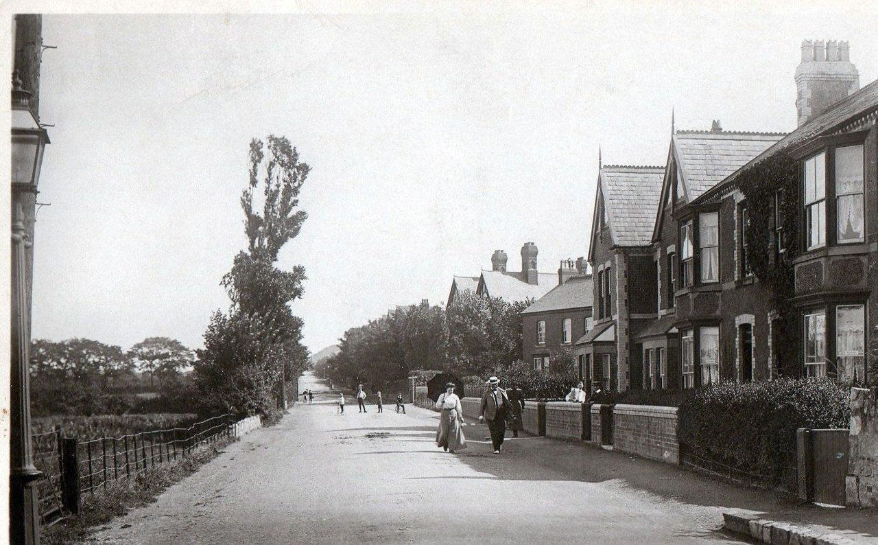 Nant Hall Road - 1912