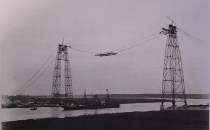 Pont transbordeur de rochefort le pont for Rochefort construction