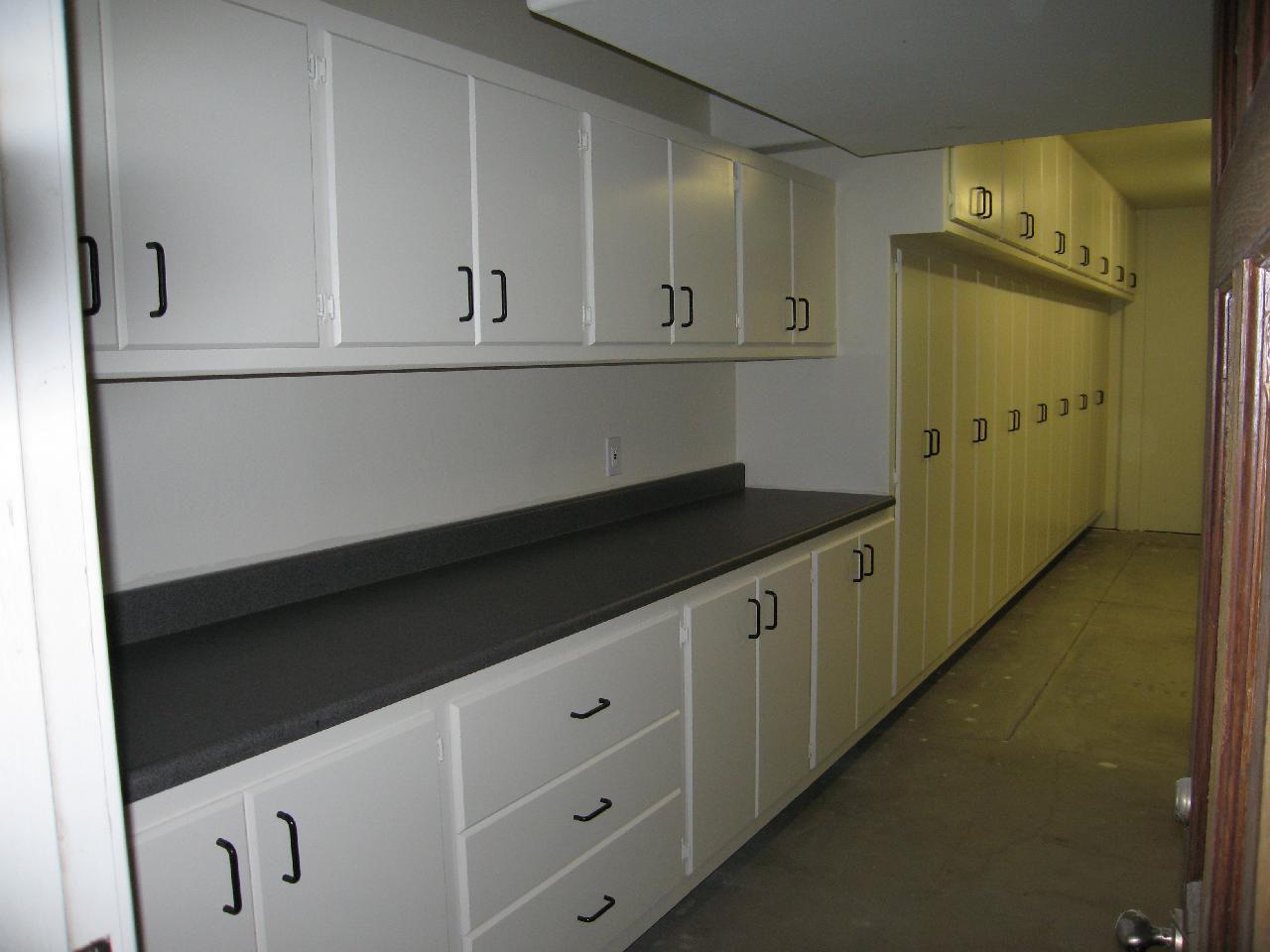 Garage Cabinets Custom Workbench