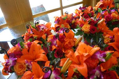 Bridesmaid's bouquets