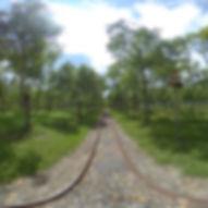 富興平地森林園區五分車鐵道720環景圖