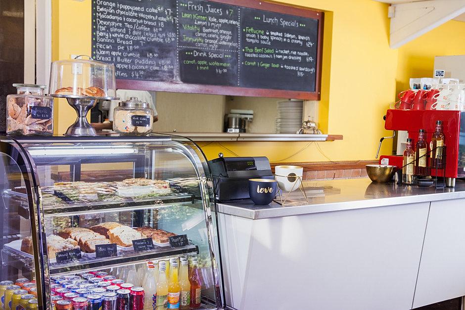 Sea Acres Cafe Menu