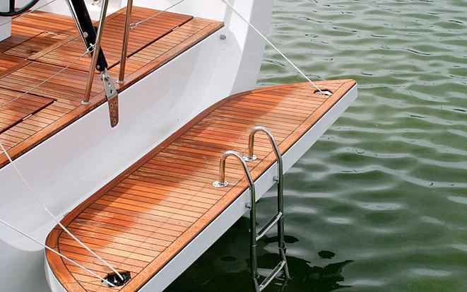 Teak deck decking tiles flooring