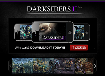 Mobile Games Template - A dark and dramatic one-page template ready to promote the release of your video game. Show off your graphics and highlight your game's unique features. The built-in link to the App Store makes it easy for customers to purchase your product!