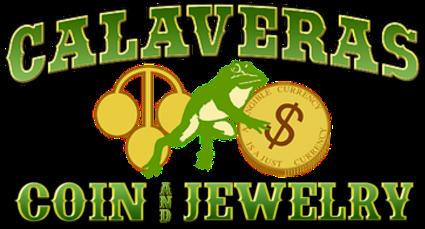 Calaveras Coin Logo, gold coins, silver coins, gold and silver coins, silver and gold coins
