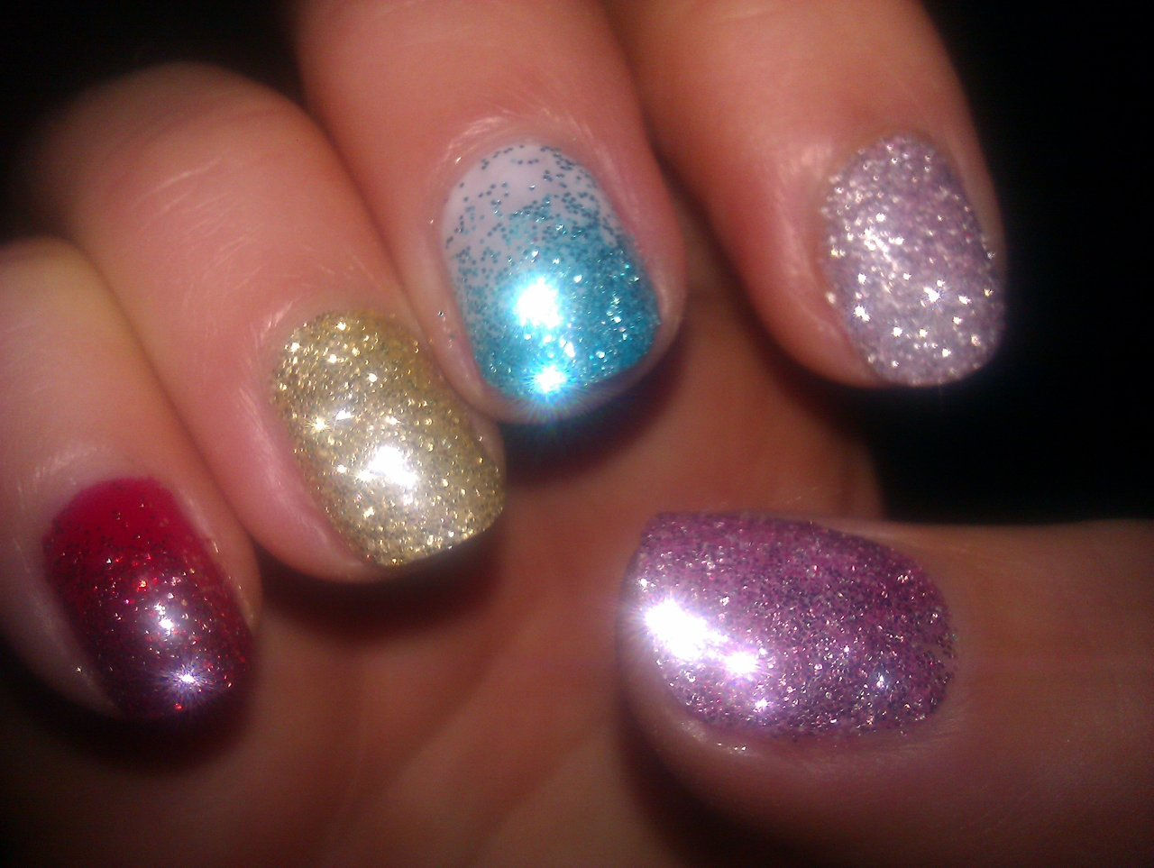 Shellac Nails Glitter Designs Pinpoint Properties