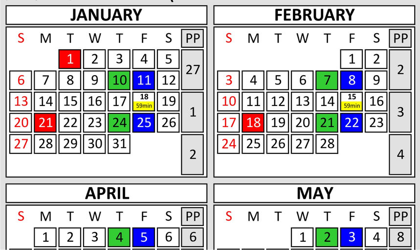 ... Print Your Free DOD Federal US Government Pay Period 2013 Calender