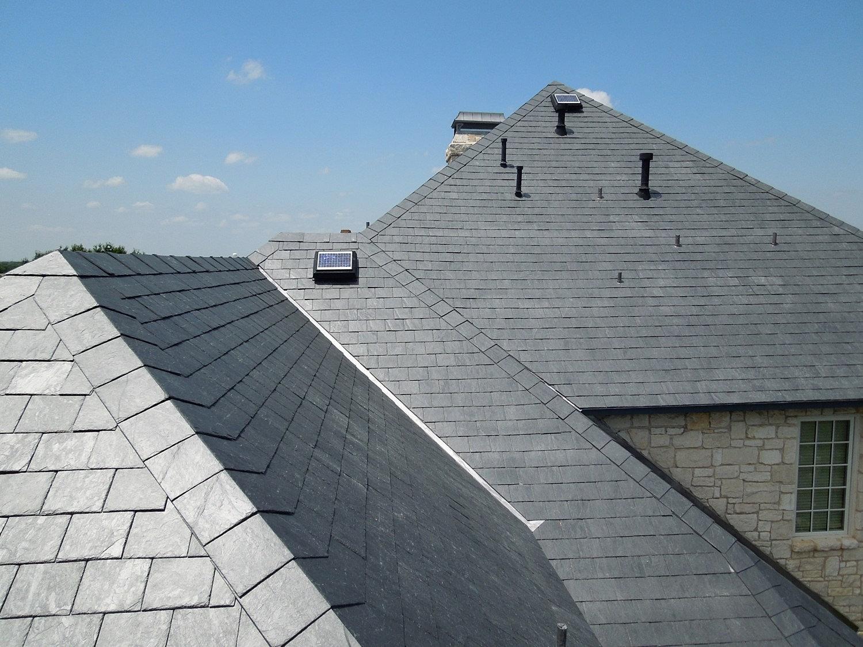 Unfading Black Slate : Tile roofs canada clay slate slatetec unfading