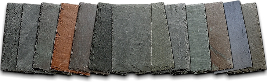 Slate roofing slatetec for Vermont slate colors