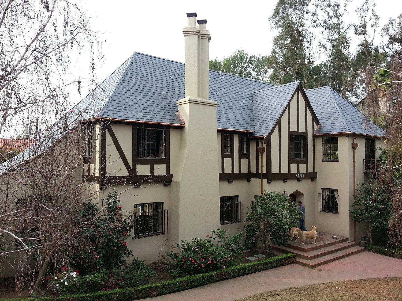 Unfading Black Slate : Slate roof canada toronto unfading black