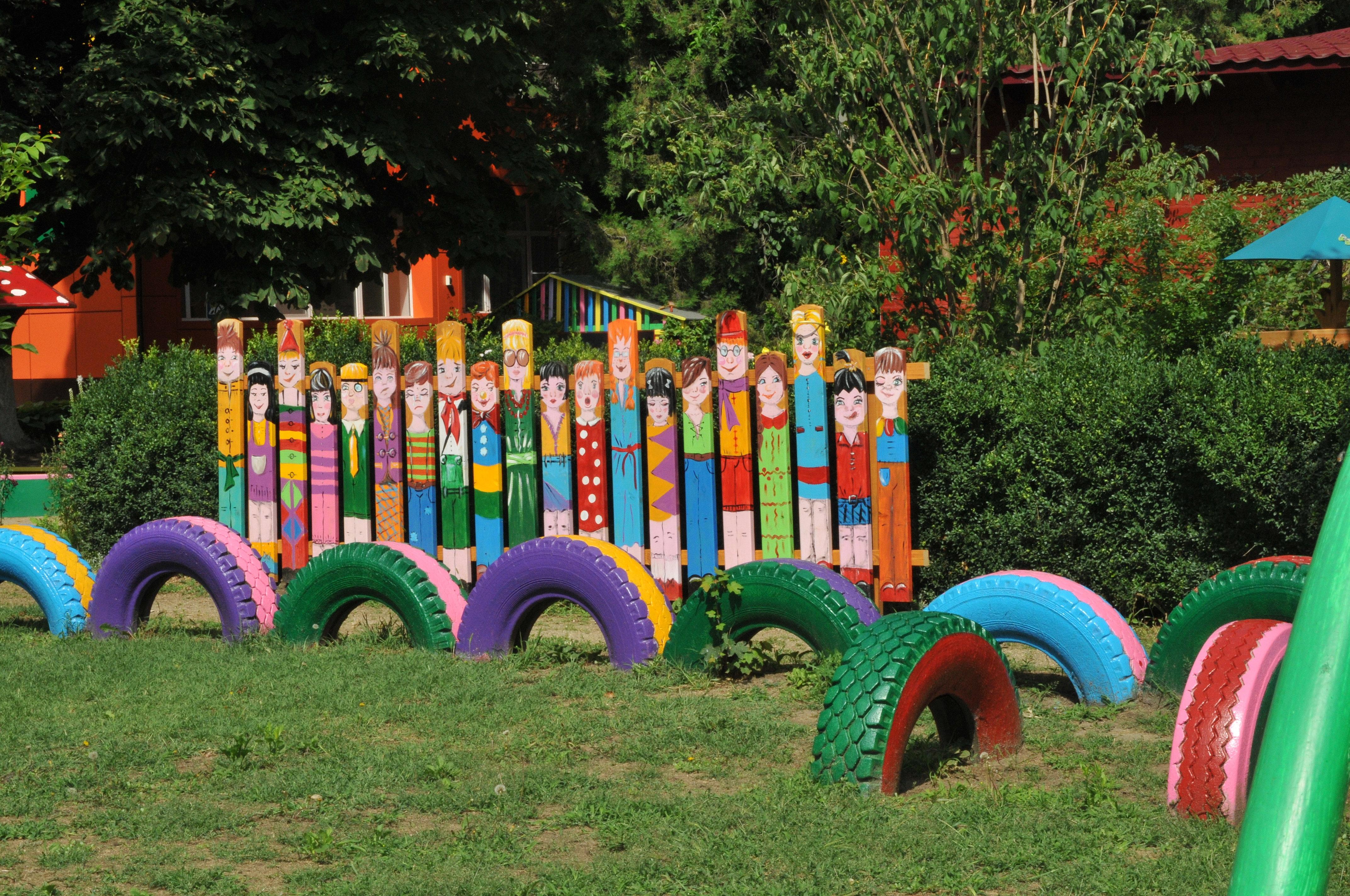 Дизайн детского сада своими руками фото