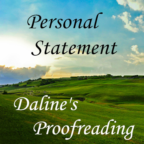 Personal statement proofreading
