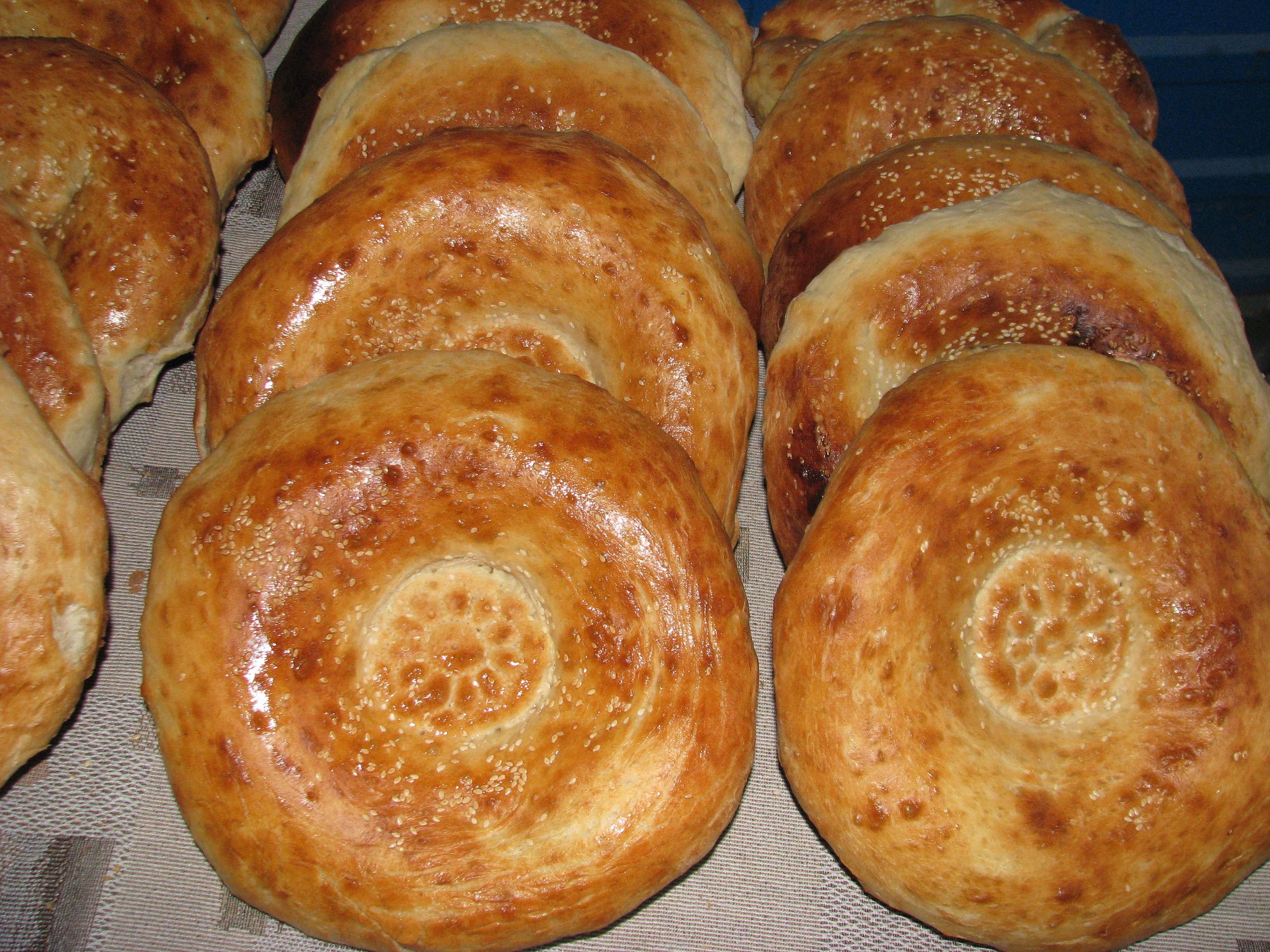 Хлеб таджикский рецепт с пошагово