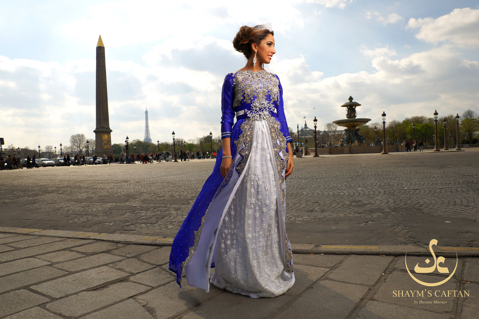 Shayms caftan location caftan haute couture for Couture france