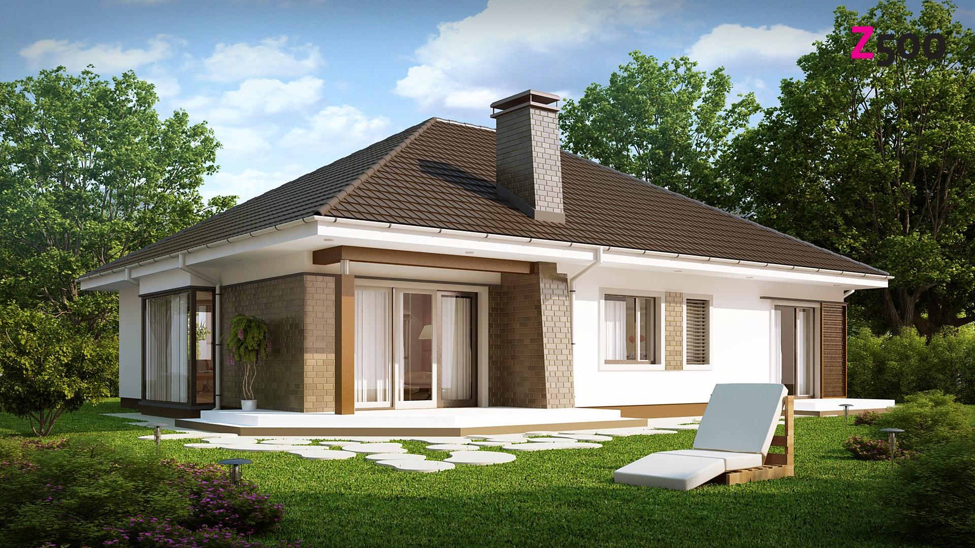 Дизайн частных домов одноэтажных