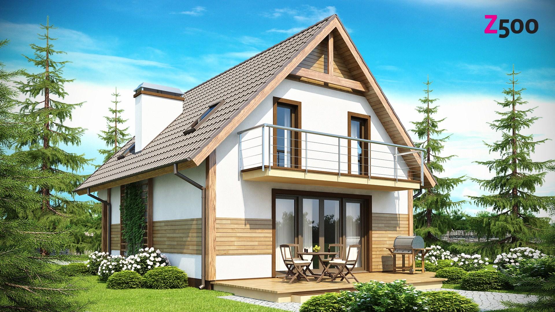 Деревянный дом  дешево и красиво проекты