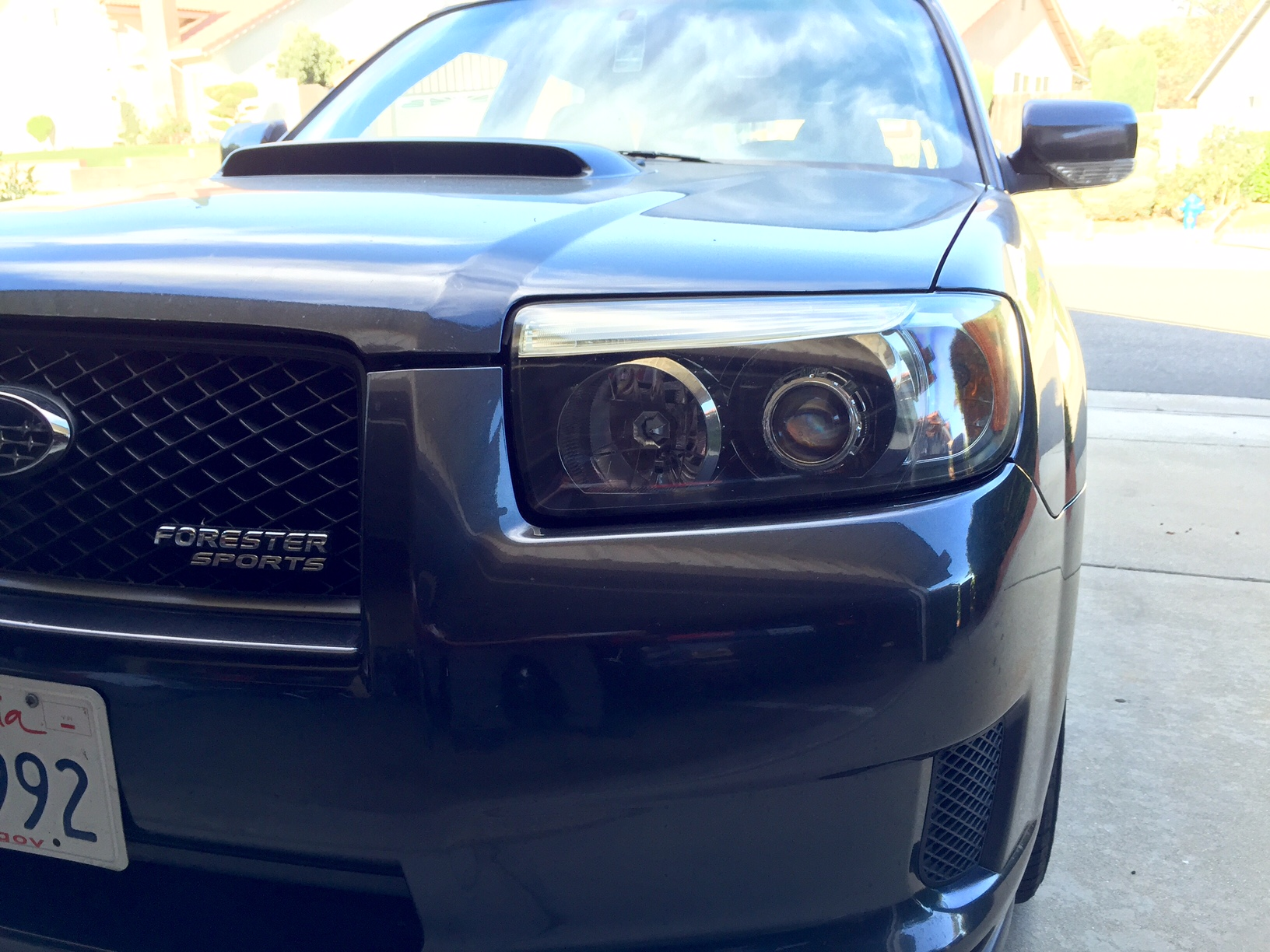 Nolan tsuchiya blog how to morimoto mini h1 70 hid projector headlight retrofit on 2008 subaru forester sports xt vanachro Images