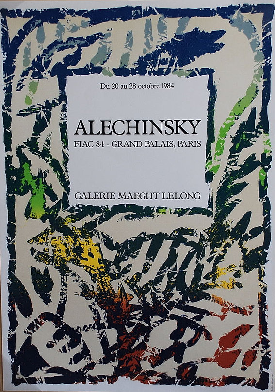 Samhart gallery alechinsky pierre for Alechinsky lithographie