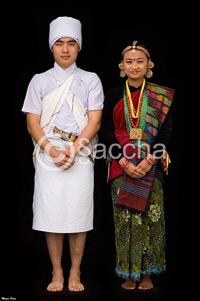 Saccha Karki Photography Magar Dress