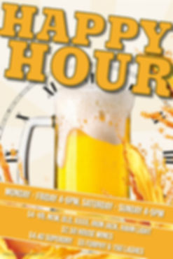Copy of Happy Hour Poste - Made with Pos