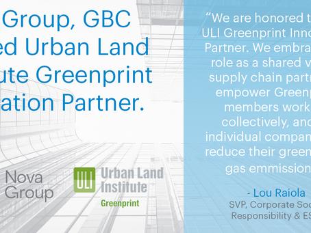 Nova集团被ULI评为绿色印刷创新合作伙伴