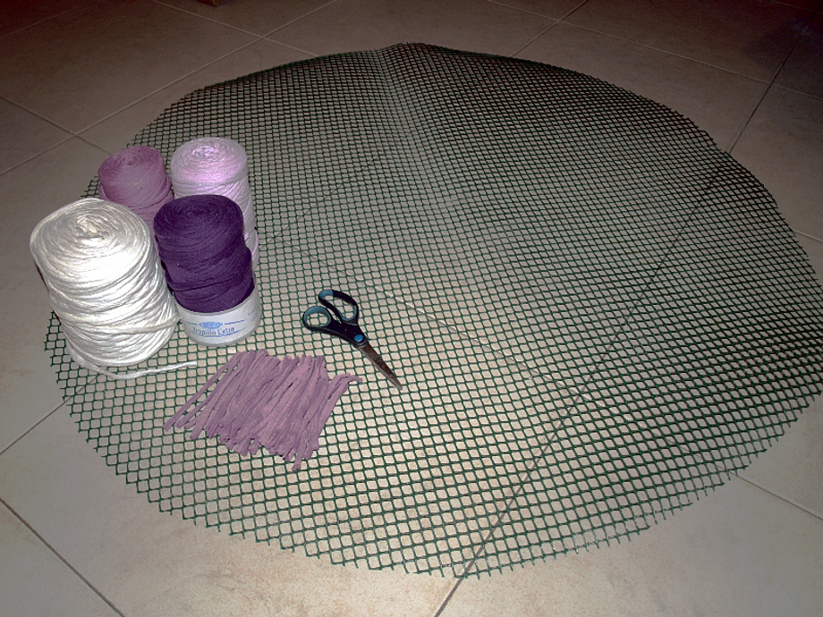 Tutorial alfombra - Tutorial alfombra trapillo ...
