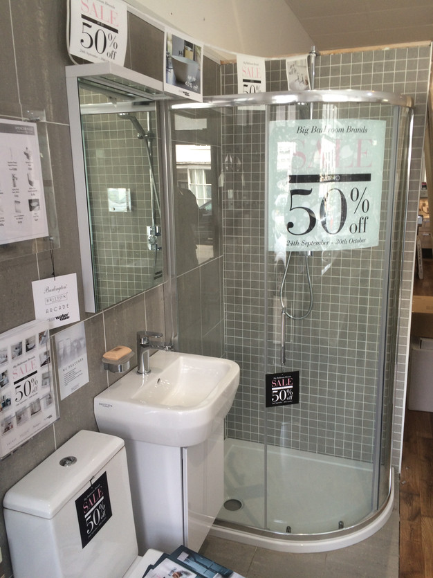 Sale is running from 24th of September to 30th of October. Big Bathroom Brand Sale   Spencer Hart Bathrooms