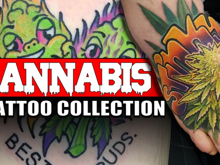 大麻 TATTOOS - FOR THE LOVE OF THE BUD