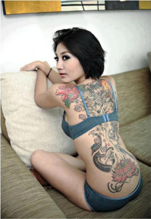chicks tatooed asian