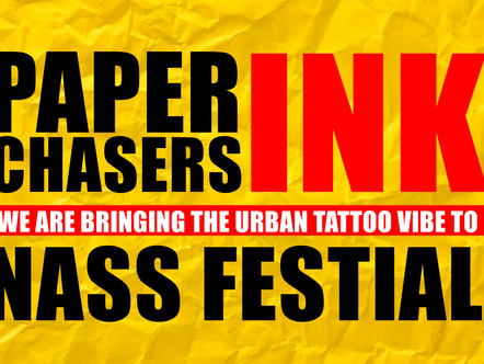 Paperchasers墨水在NASS Festival 2018年