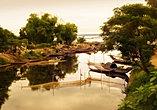 Sampan river scene