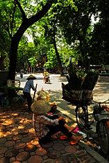 Traditional street scene