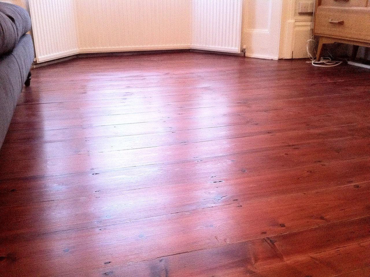 The london wood flooring co - Rustic Floor Stained Cherry Jpg