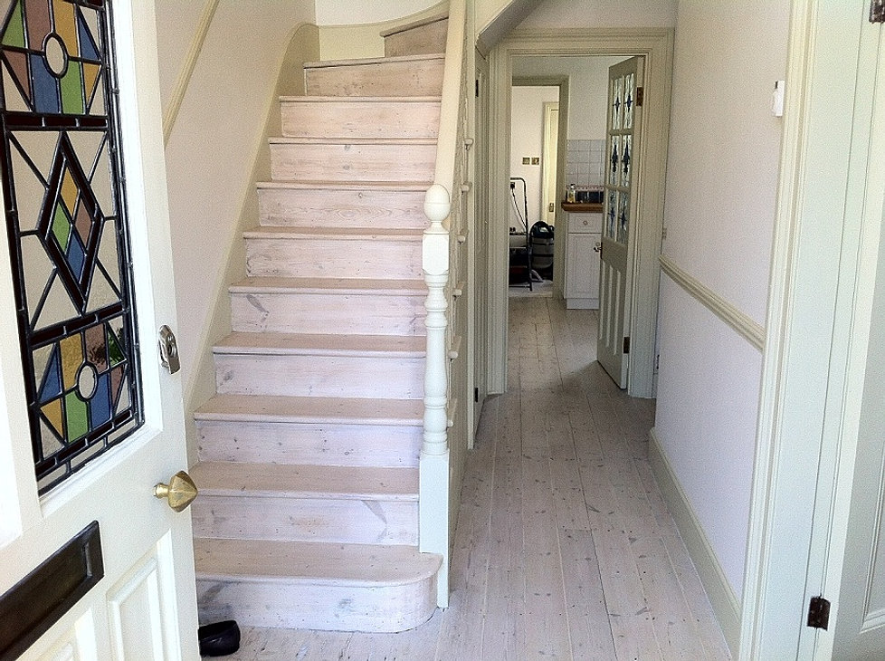 Attractive Lime Wash Stairs London