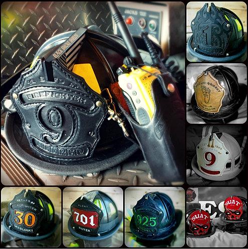 black smoke shields leather fire helmet front shields. Black Bedroom Furniture Sets. Home Design Ideas