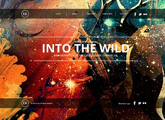 The artist website template wix for Best art websites for artists