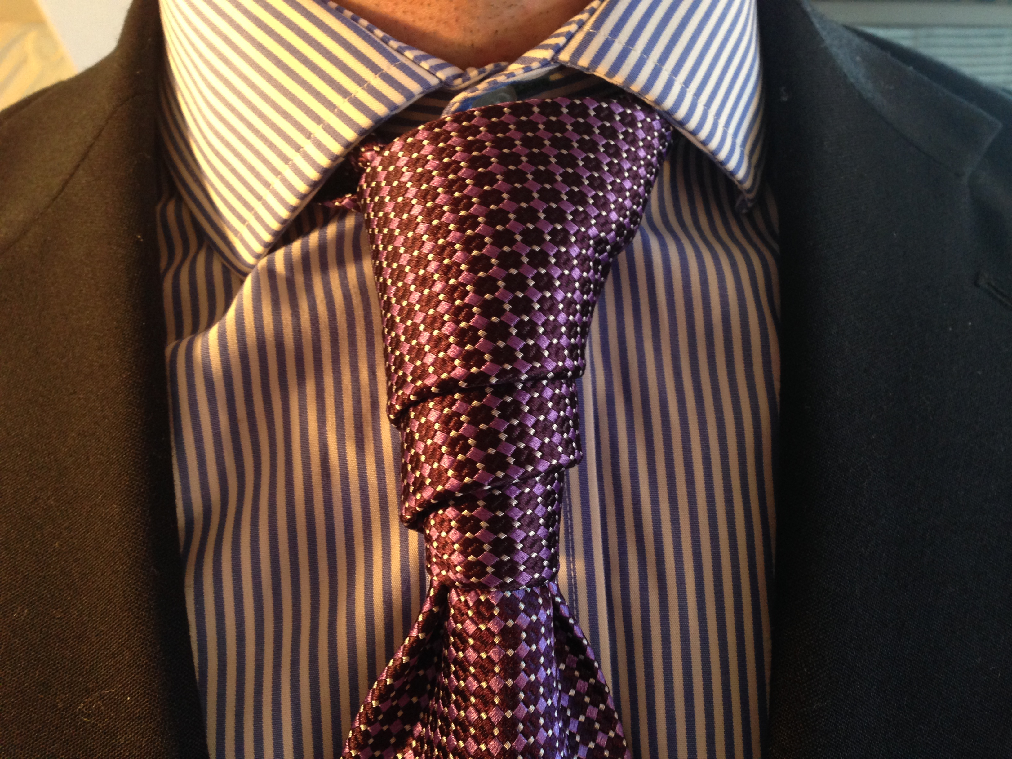 How To Tie A Van Wijk Knot 17 Best Images About Exotic Knots On Trinity Diagram Necktie Download