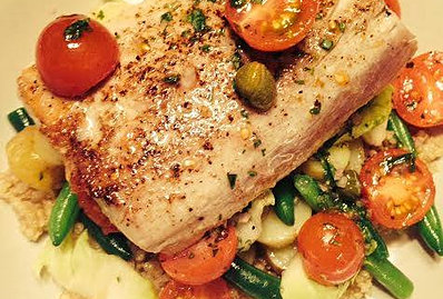 Jeanette Howell's grilled albacore