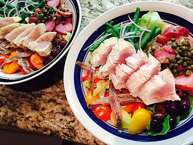 Beau's beautiful Salad Nicoise