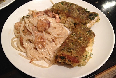 Ms. Mai'sPanko herb crusted ling cod