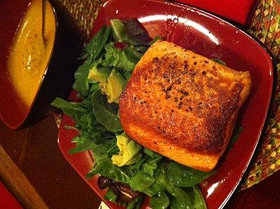 salmon au natural