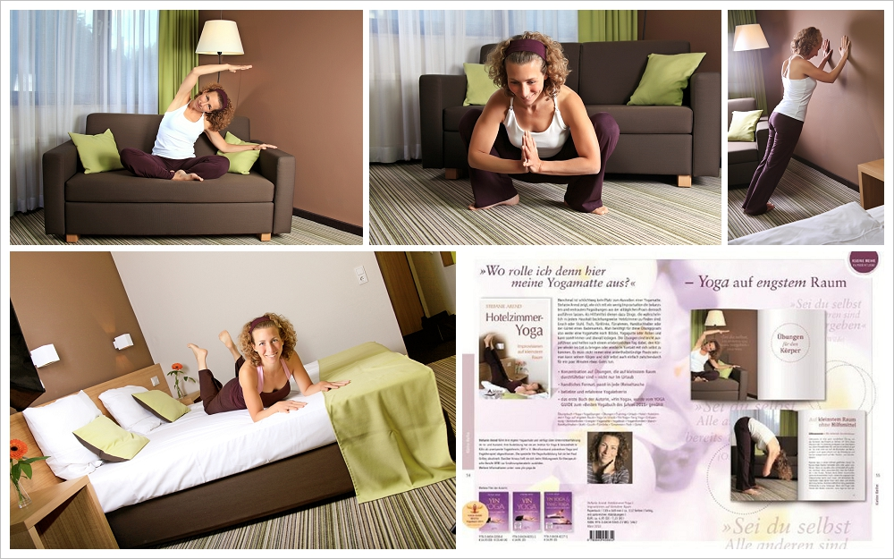 illustrationen f r das buch hotelzimmer yoga von stefanie arend alicja im photoland. Black Bedroom Furniture Sets. Home Design Ideas