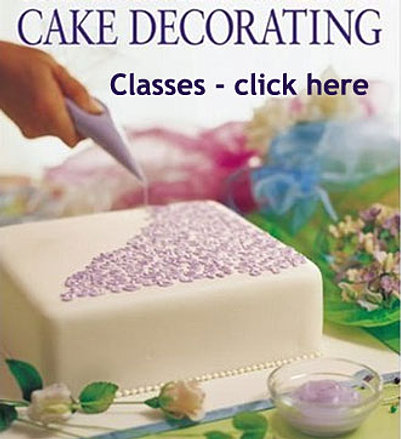 cake decorating classes - Cake Decorating Class
