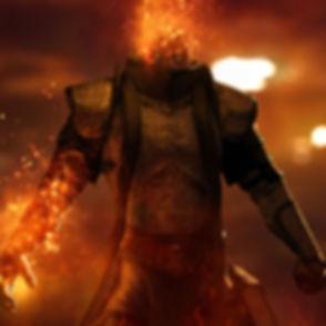 Personaje de llamas
