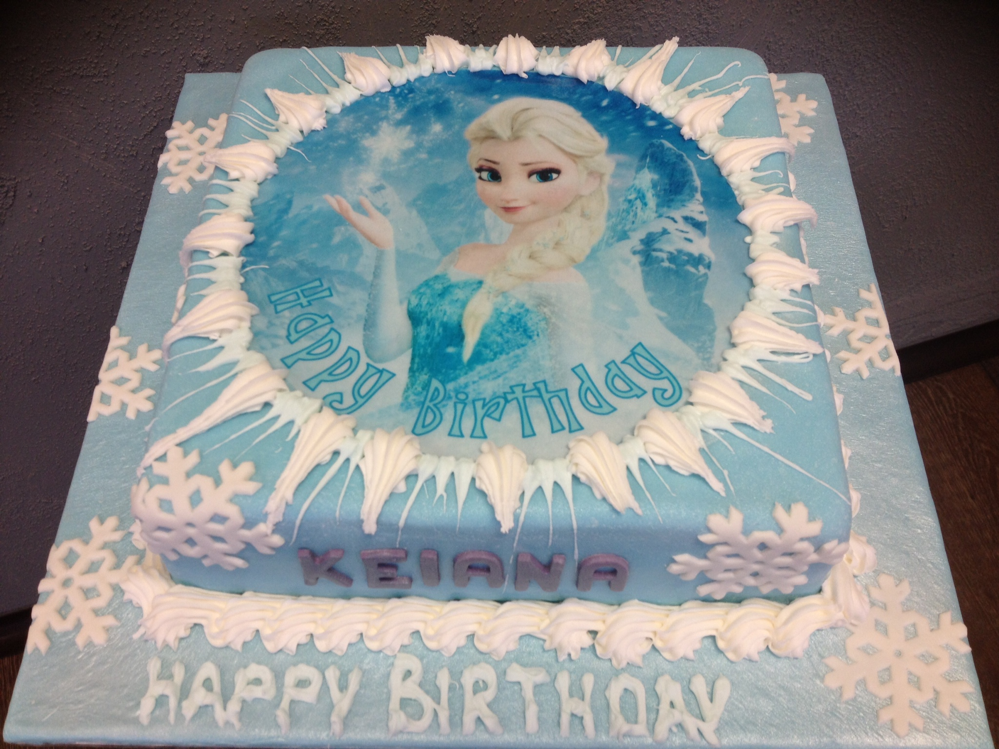 Queen Elsa Cake Design : Queen Elsa Birthday Cake images