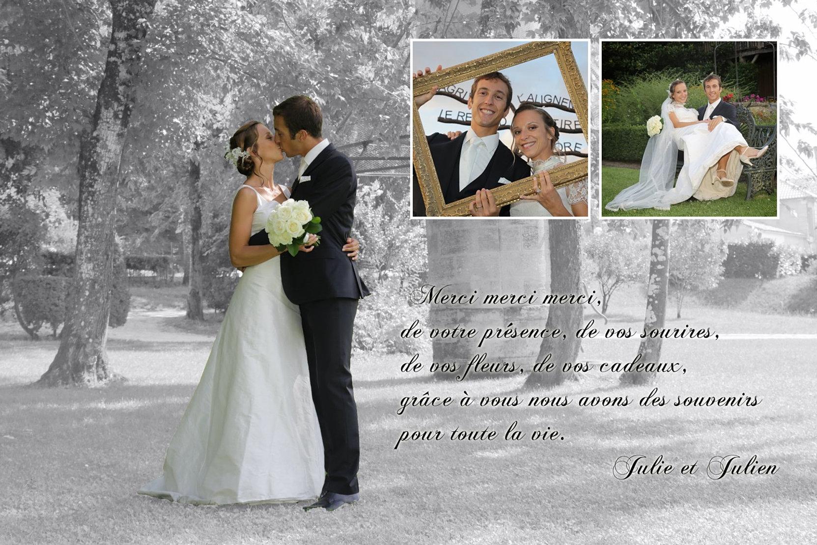 photos equivox photographe mariage gironde carte de remerciement. Black Bedroom Furniture Sets. Home Design Ideas