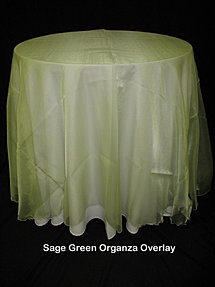 Sage Organza