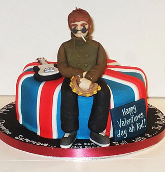 Oasis Gallagher Beer Cake Sheffield